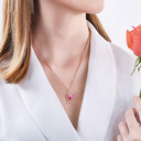 Ladies' Beautiful Crystal/Copper Crystal Necklaces For Bride/For Bridesmaid/For Mother/For Her