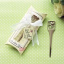 L-O-V-E Chrome Letter Opener and Bookmark (Sold in a single piece)