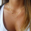Brillant Alliage Dames Collier de mode