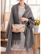 Solid Color Shawls Poncho