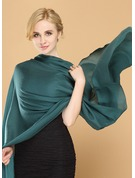 Solid Color Light Weight/fashion/simple Ring Velvet Scarf