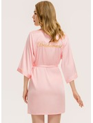 Personalized Bridesmaid Embroidered Robes