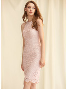 Scoop Neck Other Colors Lace Dresses