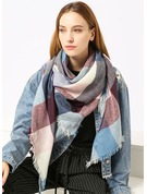 Retro/Vintage Light Weight/Oversized Artificial Wool Scarf