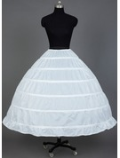Women Nylon Tea-length 1 Tier  Petticoats