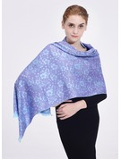 Floral Oversized/Shawls/simple Polyester Scarf
