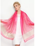 Solid Color Light Weight/Oversized Chiffon/Mulberry silk Scarf