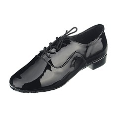 Men's Leatherette Heels Modern Dance Shoes