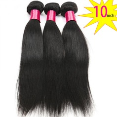 10 inch 8A Grade Brazilian Straight Virgin human Hair weft(1 Bundle 100g)