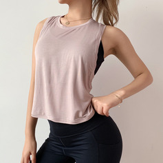 Modern/Contemporary Simple Girly Acetate Tank Top