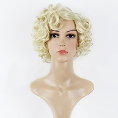 Curly Synthetic Hair Synthetic Wigs 130g
