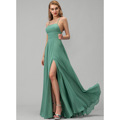 Square Neck Sleeveless Maxi Dresses (293250307)