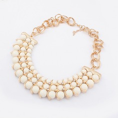 Luxurious Alloy Ladies' Necklaces