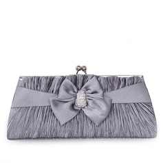Lovely Satin Clutches/Satchel