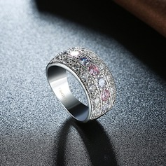 Beautiful Zircon Copper Fashion Rings