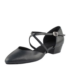 Women's Leatherette Heels Ballroom Swing Dance Shoes (274203028)