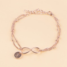 Bridesmaid Gifts - Personalized Eye-catching Alloy Initial Jewelry Bracelet (256211949)