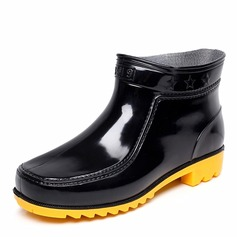 Men's PVC Rain Boats Casual Men's Boots (261172547)