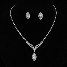 Beautiful Alloy/Rhinestones/Zircon Women's/Ladies' Jewelry Sets (011094012)