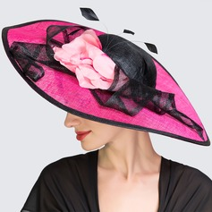 Ladies' Fashion Spring/Summer Cambric With Bowler/Cloche Hat