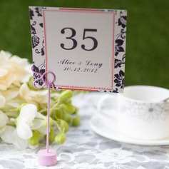 Personalized Elegant Card Paper Table Number Cards