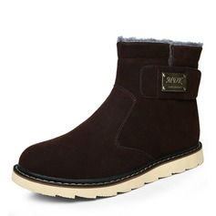 Men's Suede Snow Boats Casual Men's Boots