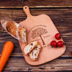 Groom Gifts - Personalized Vintage Wooden Cutting Board