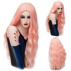 Wavy Synthetic Hair Capless Wigs (Sold in a single piece) 90g