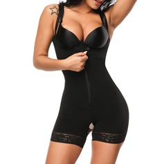 Women Sexy/Classic Lycra Breathability/Heat Insulation/Butt Lift High Waist Bodysuit With Lace Shapewear (125210807)