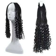 Dread Locks / Faux Locs syntetiska hår flätor 90 g