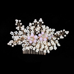 Elegant Alloy/Imitation Pearls Combs & Barrettes (Sold in single piece)