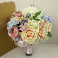 Girly Satin Bridal Bouquets -