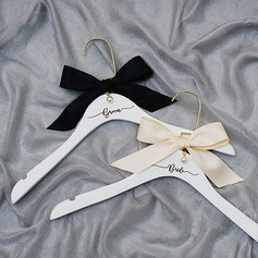 Bride Gifts - Graceful Wooden Silk Imitation Pearls Hanger