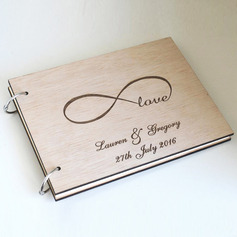 Personalized Wood Guestbook (101230171)