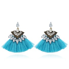 Alloy Acrylic Fashion Earrings (Set of 2)