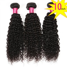 10 inch 8A Brazilian Virgin Human Hair Kinky Curly(1 Bundle 100g)