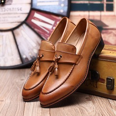 Men's Leatherette Tassel Loafer Casual Men's Loafers