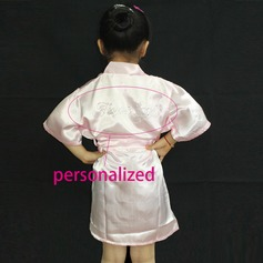 Personalized Nylon Bridal/Feminine Robe (20 letters or less)