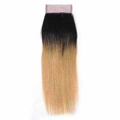 "4""*4"" 4A Straight Human Hair Closure (Sold in a single piece)"