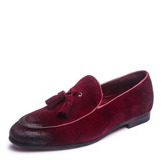 Mannen Echt Leer Tassel Loafer Casual Loafers voor heren