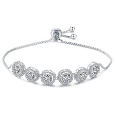 Ladies' Beautiful Copper/Zircon Bracelets For Bride/For Bridesmaid/For Mother