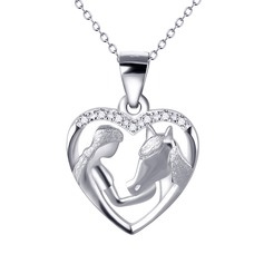 Fashional Silver Plated Ladies' Fashion Necklace