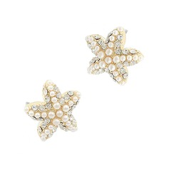 Gorgeous Alloy With Pearl Women's Earrings