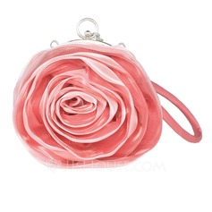 Fashional Satin Wristlets/Bridal Purse (012005446)