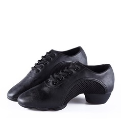 Unisex Leatherette Sneakers Jazz Practice Dance Shoes