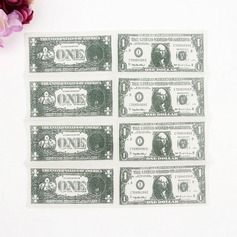 """Cash Roll"" Dinner Napkins"