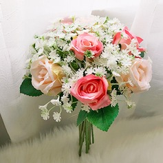 Round Bridesmaid Bouquets (Sold in a single piece) -