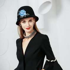 Wool Bowler/Cloche Hat