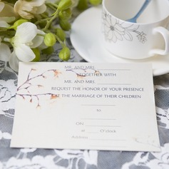 moderne stil Flat Card Invitation Cards