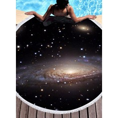 round/attractive Beach towel